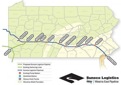 NIMBYs and Environmental Groups Win First Round Before PUC Against Sunoco Pipeline